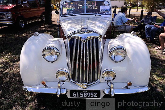 1951 Riley Drophead Special.<br /> 2011 Classic Car Show, Whiteman Park, Perth, Western Australia. March 20, 2011
