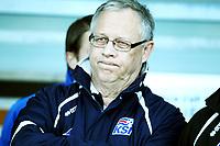Fotball , 7. september 2012 , VM-kvalifisering , Island - Norge 2-0<br /> <br /> trener Lars Lagerbäck , Island<br /> Iceland - Norway