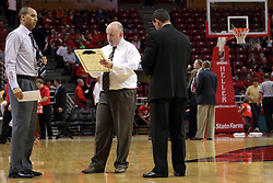 29 December 2014:  Jestion Anderson Marty Bell during an NCAA non-conference interdivisional exhibition game between the Quincy University Hawks and the Illinois State University Redbirds at Redbird Arena in Normal Illinois.