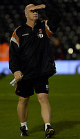 Photo: Daniel Hambury.<br />Fulham v Charlton Athletic. The Barclays Premiership. 16/10/2006.<br />Charlton's manager Iain Dowie is looking for a win.