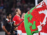 Rugby Union - 2019 Rugby World Cup - Bronze Final (Third Place Play-Off): New Zealand vs. Wales<br /> <br /> Wales' Alun Wyn Jones sings the anthem, at Tokyo Stadium, Tokyo.<br /> <br /> COLORSPORT/ASHLEY WESTERN