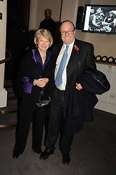MICHAEL ANCRAM QC MP and his wife LADY JANE ANCRAM at a party to celebrate the publication of 'Past Imperfect' by Julian Fellowes held at Cadogan Hall, 5 Sloane Terrace, London SW1 on 4th November 2008.