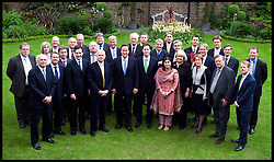 The Prime Minister David Cameron with his cabinet in the garden of No10 Downing Street , Thursday May 13, 2010. Photo By Andrew Parsons