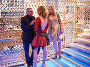 Patrick Demarchelier; Natalia Vodianova, Louis Vuitton openingof New Bond Street Maison. London. 25 May 2010. -DO NOT ARCHIVE-© Copyright Photograph by Dafydd Jones. 248 Clapham Rd. London SW9 0PZ. Tel 0207 820 0771. www.dafjones.com.