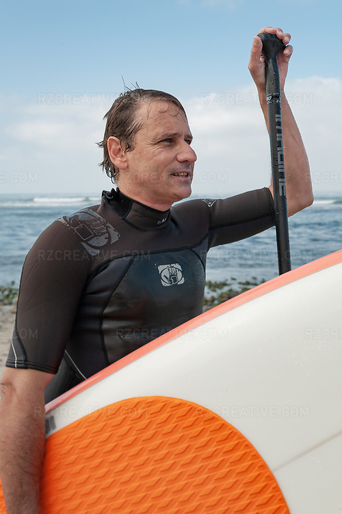 Portrait of slalom canoeist, whitewater kayaker, surfer and surfboard designer Corran Addison. Photo © Robert Zaleski / rzcreative.com<br /> —<br /> To license this image contact: robert@rzcreative.com