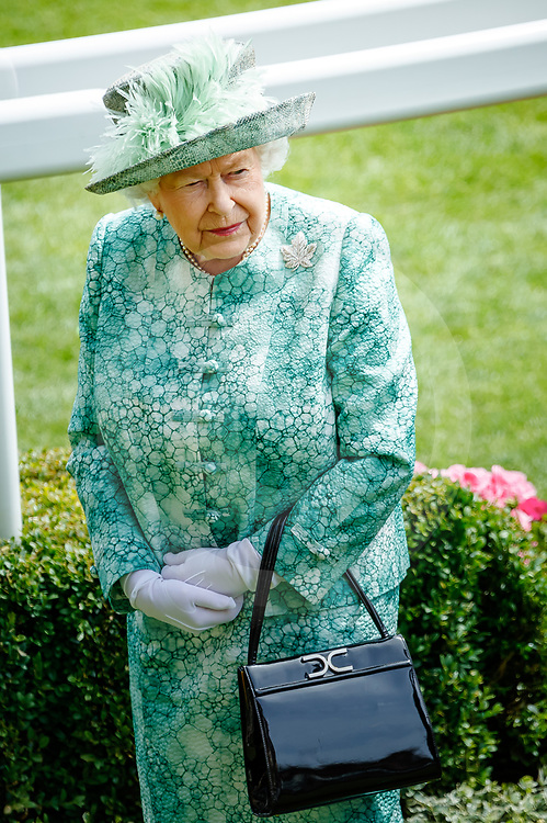 H.M. The Queen  at Royal Ascot, 23/06/2018, photo: Zuzanna Lupa