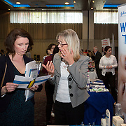 23.05.2018.       <br /> Today, the Institute of Community Health Nursing (ICHN) hosted its2018 community nurseawards in association withHome Instead Senior Care,at its annual nursing conference, in the Strand Hotel Limerick, rewarding public health nurses for their dedication to community care across the country. <br /> <br /> Pictured at the event were, Maria Boyle, ABC Starlight and Paula Morriarty, Johnsons. Picture: Alan Place