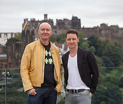 Filth photocall with Irvine Welsh and James McAvoy.<br /> ©Michael Schofield.