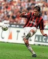 Fotball<br /> Italia<br /> Feature AC Milan<br /> Foto: Colorsport/Digitalsport<br /> NORWAY ONLY<br /> <br /> LEONARDO (MILAN). AC MILAN V LAZIO, 13/09/1997.