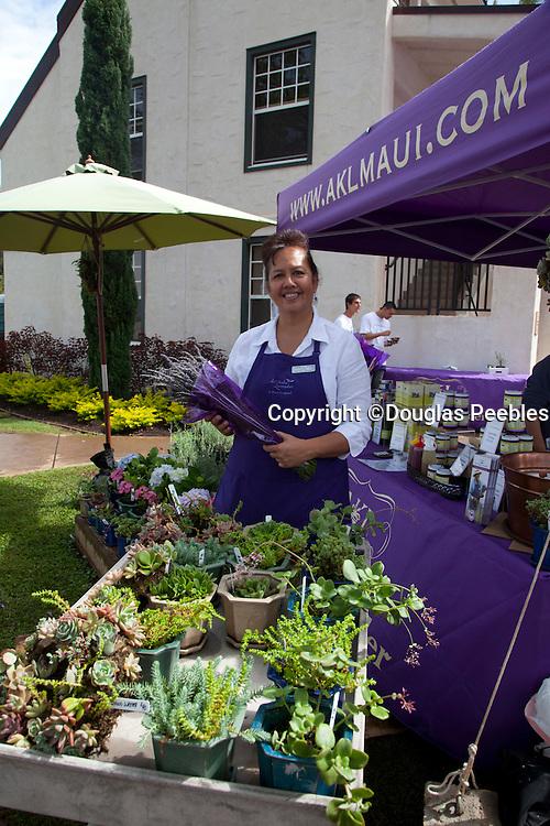 Seabury Hall, Craft Fair, Olinda, Maui, Hawaii