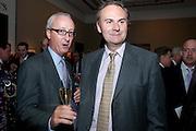JAMES ANDERSON; WILLIAM CASH, Spear's Wealth Management Awards. Christie's, Kind St. London. 14 September 2009.