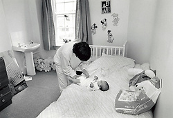Mother & baby homeless unit, Nottingham UK 1989