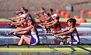 © Peter Spurrier Sports Photo.PH 44 (0) 973 819 551.e-mail rowingpics@aol.com..Sydney Olympic Games 2000.Penrith Lakes - Penrith - NSW - Australia..GBR W2- .Cath Bishop and Dot Blackie 2000 Olympic Regatta Sydney International Regatta Centre (SIRC) 2000 Olympic Rowing Regatta00085138.tif
