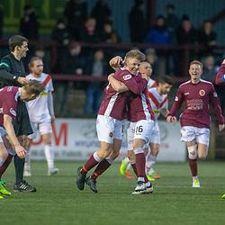 Stenhousemuir v Airdrie, Scottish Football League Division One