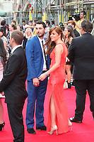 Blake Harrison; Kerry Ann Lynch, The Inbetweeners 2 - World Film Premiere, Leicester Square, London UK, 05 August 2014, Photo by Richard Goldschmidt