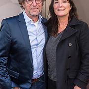 NLD/Amsterdamt/20180930 - Annie MG Schmidt viert eerste jubileum, Eric van Tijn en partner Teruska Bollen