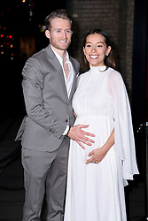 AndrŽ SchŸrrle and Anna Sharypova arriving at the Fabulous Fund Fair, Camden Roundhouse, London.<br />Photo credit should read: Doug Peters/EMPICS