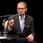 Author Daniel Silva speaks at The Music Hall, July 20, 2016