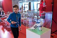 2016.07.23 Bialystok Pilka nozna Final FC Bayern Youth Cup 2018 na Stadionie Miejskim N/z ekspozycja pamiatek zwiazanych z klubem FC Bayern fot Michal Kosc / AGENCJA WSCHOD