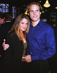 MISS JENNIFER KAYE and MR JAMIE MORRISON, he was a former close friend of ex Spice Girl Geri Halliwell,  at a party in London on 24th May 1999.MSJ 46
