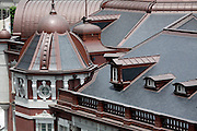 rooftop of renovated Tokyo Station Japan