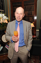 A party to promote the exclusive Puntacana Resort & Club - the Caribbean's Premier Golf & Beach Resort Destination, was held at Spencer House, London on 13th May 2010.<br /> <br /> Picture shows:- PEREGRINE ARMSTRONG-JONES