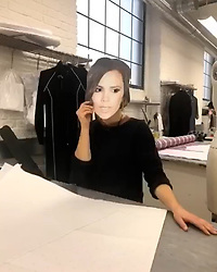 """Victoria Beckham releases a photo on Instagram with the following caption: """"Team VB who do you think you are... ??\ud83d\ude09 I\u2019ll see you at the Christmas party!! \ud83d\ude02\ud83d\udc83\ud83c\udffb \ud83c\udf88\ud83c\udf7e"""". Photo Credit: Instagram *** No USA Distribution *** For Editorial Use Only *** Not to be Published in Books or Photo Books ***  Please note: Fees charged by the agency are for the agency's services only, and do not, nor are they intended to, convey to the user any ownership of Copyright or License in the material. The agency does not claim any ownership including but not limited to Copyright or License in the attached material. By publishing this material you expressly agree to indemnify and to hold the agency and its directors, shareholders and employees harmless from any loss, claims, damages, demands, expenses (including legal fees), or any causes of action or allegation against the agency arising out of or connected in any way with publication of the material."""
