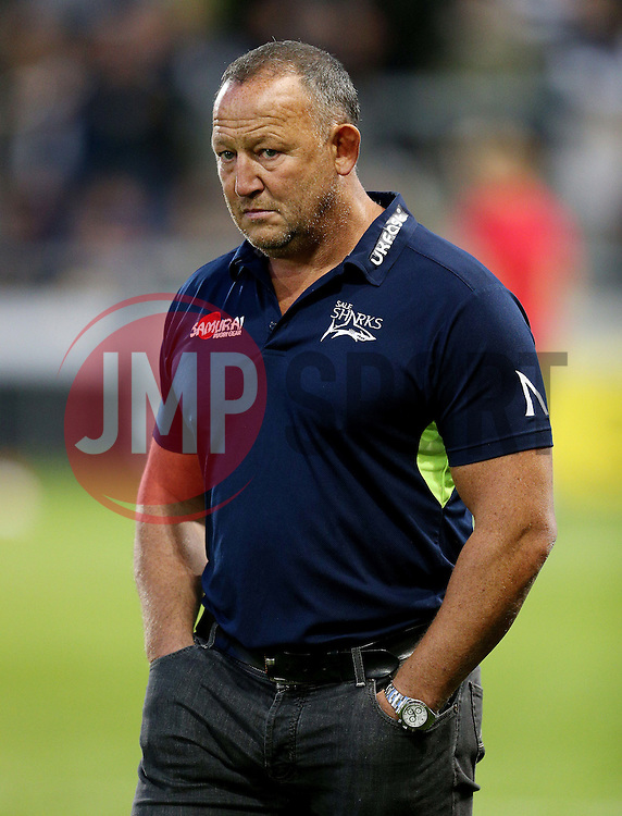 Sale Sharks' director of rugby, Steve Diamond  - Mandatory by-line: Matt McNulty/JMP - 16/09/2016 - RUGBY - Heywood Road Stadium - Sale, England - Sale Sharks v Gloucester Rugby - Aviva Premiership