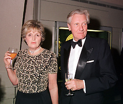 MR & MRS MICHAEL HESELTINE he is the MP and former Conservative government <br /> deputy Prime Minister, at a reception in London on 17th April 2000.<br /> OCX 63