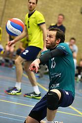 20160130 NED: Volleybal: Inter Rijswijk - Prins VCV, Rijswijk <br />Lennart Huijbers, Inter Rijswijk