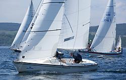 Silvers Marine Scottish Series 2017<br /> Tarbert Loch Fyne - Sailing<br /> GBR749, Autism on the Water, RNCYC/M MacDonald, PEYC/OSC/RNCYC, Sonar<br /> <br /> Credit Marc Turner / PFM