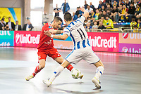 Benfica's Bruno Coelho and Pescara's Fabricio Calderolli during UEFA Futsal Cup 2015/2016 3º/4º place match. April 22,2016. (ALTERPHOTOS/Acero)