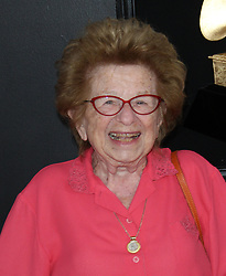 61st Annual Grammy Awards - Arrivals. 10 Feb 2019 Pictured: Ruth Westheimer. Photo credit: Jaxon / MEGA TheMegaAgency.com +1 888 505 6342
