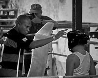 Rafael Tejo Boxing Gym (Gimnasio de Boxeo Rafael Tejo). Image taken with a Fuji X-T1 camera and 55-200 mm OIS lens.