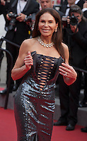 Mouna Ayoub at the Closing ceremony and premiere of La Glace Et Le Ciel at the 68th Cannes Film Festival, Sunday 24th May 2015, Cannes, France.