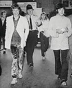 """Velvet pants shared by Mick Jagger, Keith Richards, and Gram Parsons to be auctioned<br /> <br /> Mick Jagger's custom-made sage green velvet pants, personally worn and then later shared by Jagger and band mate Keith Richards, and gifted to musician Gram Parsons will be auctioned by Boston-based RR Auction. <br /> <br /> The front of the pants consist of two buttons and a zipper, with the rear featuring an adjustable belt, circa 1968.<br /> <br /> Accompanied by a copy of a letter of provenance from John Nuese, a close friend of Parsons and a founding member of the International Submarine Band, dated October 24, 2007, who lists them as """"Blue velvet pants, custom made for Mick Jagger, used by Mick and Keith Richards, then given by Mick to Gram Parsons.""""<br /> <br /> Nuese is widely credited with introducing Parsons to country music while the latter was a student at Harvard University in 1966.<br /> <br /> The item is also accompanied by various written materials relating to the pants and Parson's connection and musical relationships with both Nuese and the Rolling Stones.<br /> <br /> The pair formed the country rock outfit The International Submarine Band, and released one full-length album, Safe at Home, before Parsons joined The Byrds roughly two years later. Unsettled by the band's upcoming concert tour of apartheid South Africa, Parsons left the Byrds during a tour of England in summer 1968 and, with nowhere to go, moved in with Rolling Stones guitarist Keith Richards. The pair developed a close relationship that included clothes swapping and countless hours of playing obscure, heart-tugging country songs.<br /> <br /> In the book Twenty Thousand Roads: The Ballad of Gram Parsons and his Cosmic American Music, Pamela Des Barres, a mutual friend of Parsons and Richards, is quoted as saying: 'Gram and Keith were kind of in love. I'm sure they never did anything physical, but they had this incredible mutual admiration society. They understood each other and wanted """