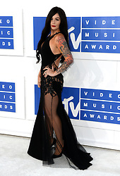 Jenni 'J-Woww' Farley arriving at the MTV Video Music Awards 2016, Madison Square Garden, New York City. PRESS ASSOCIATION Photo. Picture date: Sunday August 28, 2016. See PA story SHOWBIZ MTV. Photo credit should read: PA Wire