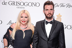 Monika Bacardi and Andrea Iervolino attending the de Grisogono party ahead the 70th Cannes Film Festival, at Eden Roc Hotel in Antibes, France on May 23, 2017. Photo Julien Reynaud/APS-Medias/ABACAPRESS.COM