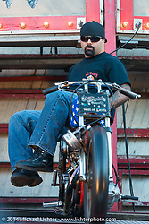 The California Hellriders Wall of Death at the Iron Horse Saloon in Ormond Beach, FL, during Biketoberfest. October 16, 2014, photographed by Michael Lichter. ©2014 Michael Lichter