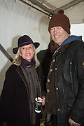 SIMON OAKES; BARONESS BAMFORD;  The Heythrop Hunt Point to Point. Cocklebarrow. 24 January 2016