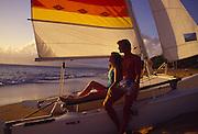 Couple, Kaanapali, Maui<br />