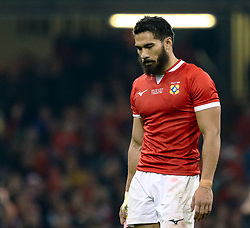 Daniel Kilioni of Tonga<br /> <br /> Photographer Simon King/Replay Images<br /> <br /> Under Armour Series - Wales v Tonga - Saturday 17th November 2018 - Principality Stadium - Cardiff<br /> <br /> World Copyright © Replay Images . All rights reserved. info@replayimages.co.uk - http://replayimages.co.uk