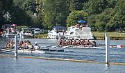Henley. Berks, United Kingdom. <br /> <br /> 2017 Henley' Women's Regatta. Rowing on, Henley Reach. River Thames. <br /> <br /> <br /> Sunday  18/06/2017<br /> <br /> <br /> [Mandatory Credit Peter SPURRIER/Intersport Images]