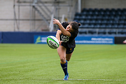 Caity Mattinson of Worcester Warriors Women warms up  - Mandatory by-line: Nick Browning/JMP - 24/10/2020 - RUGBY - Sixways Stadium - Worcester, England - Worcester Warriors Women v Wasps FC Ladies - Allianz Premier 15s