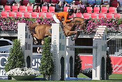 Pals Johnny, (BEL), Vignet<br /> Furusiyya FEI Nations CupTM presented by Longines<br /> CSIO Sankt Gallen 2015<br /> © Hippo Foto - Stefano Secchi<br /> 05/06/15