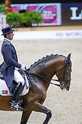 Daniel Pinto on Santurion de Massa during the Equestrian FEI World Cup Dressage Lyon 2017 on November 2, 2017 at Eurexpo Lyon in Chassieu, near Lyon, France - Photo Romain Biard / Isports / ProSportsImages / DPPI