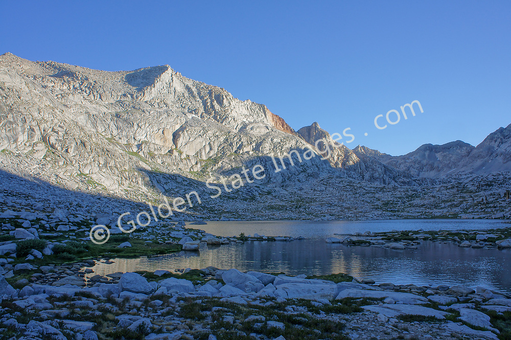 Crystal clear morning at Nine Lakes Basin in Sequoia National Park.