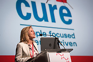 21st International AIDS Conference (AIDS 2016), Durban, South Africa.<br /> Photo shows Sharon Lewin, Doherty Institute, The University of Melbourne, Australia, speaking at the Towards A Cure Symposium session.<br /> Photo © Steve Forrest/Workers' Photos
