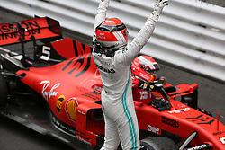 May 26, 2019 - Monte Carlo, Monaco - xa9; Photo4 / LaPresse.26/05/2019 Monte Carlo, Monaco.Sport .Grand Prix Formula One Monaco 2019.In the pic: Lewis Hamilton (GBR) Mercedes AMG F1 W10 (Credit Image: © Photo4/Lapresse via ZUMA Press)