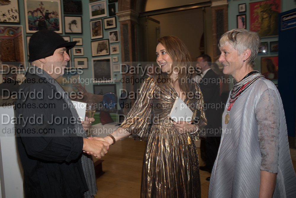 RON ARAD, BATIA OFER, REBECCA SALTER,, 2019 Royal Academy Annual dinner, Piccadilly, London.  3 June 2019
